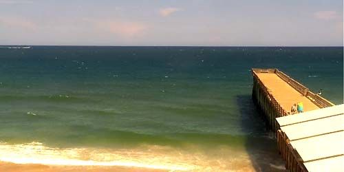 Webcam Wilmington - Beaches of Rightsville Beach