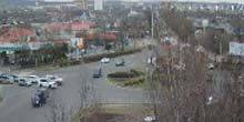 Webcam Ussuriysk - Ring of the Krasnoznamennaya - Pushkin