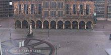 Webcam Bremen - Market square