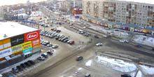 Webcam Biysk - Shopping and entertainment center Riviera