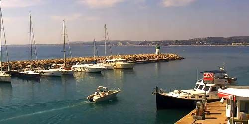 Webcam Nice - Moorings on the French Riviera Saint-Laurent-du-Var