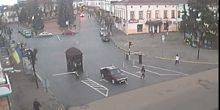 Webcam Colomija - Road junction on the Central square
