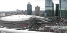 Webcam Edmonton - Rogers Place - Indoor Multifunctional Arena