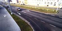 Webcam Pilsen - Traffic on Rokichanskaya street