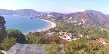 Webcam Zihuatanejo - Playa La Ropa Coast