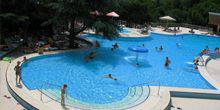 "Webcam Hurzuf - A view of the pool in the sanatorium ""AI-Danil"""