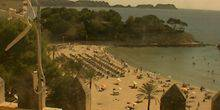 Webcam Palma (Mallorca Island) - Sandy beach in one of the coves
