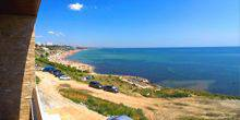 Views of the coast Chornomorsk (Ilyichevsk)