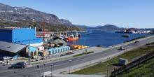 Webcam Nuuk (Greenland) - Sea port