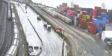 Webcam Vancouver - Cargo seaport