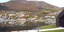 Webcam Norddjordeyd - Seaport, view of the Norwegian fjords