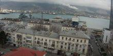 Webcam Novorossiysk - Embankment, seaport