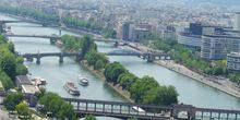 Panoramic views of the river Seine Paris