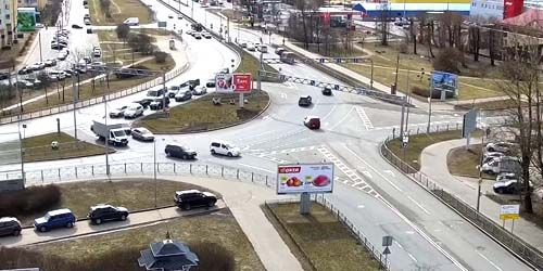 Webcam Saint Petersburg - Primorskoe highway in Sestroretsk