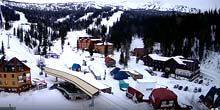 Webcam Novokuznetsk - Panorama of the resort Sheregesh