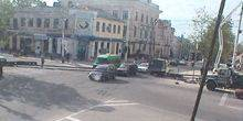 Webcam Tiraspol - The intersection on the Shevchenko street.