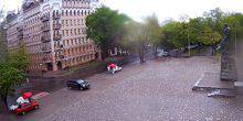 Webcam Odessa - The area in front of the monument to T. G. Shevchenko