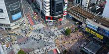 Webcam Tokyo - The intersection in the Shibuya area