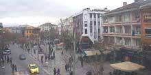 Webcam Konya - Shops and cafes on Victory Square