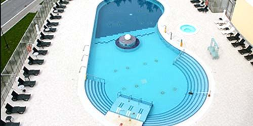 Webcam Tyumen - Swimming pool in the sanatorium Siberia