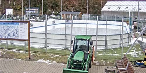 Webcam Zvolen - Ice skating rink of the Salamandra ski resort