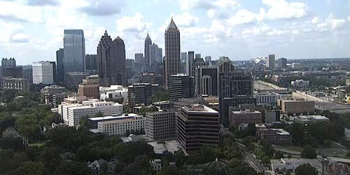 Webcam Atlanta - Skyscrapers in the center