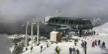 The upper station of the ski slope - Webcam, Driggs
