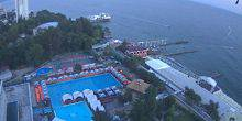 Webcam Sochi - A view of the pool at Grand Hotel Zhemchuzhina