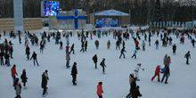 Webcam Moscow - Ice skating rink in Sokolniki