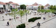 Webcam Gdansk - Friends Square in the suburbs of Sopot