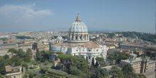 Webcam Rome - St. Peter's Basilica in the Vatican