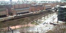Webcam Hamburg - View of the Speicherstadt from Chilehaus
