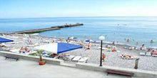 The beach in the complex Satellite Sochi