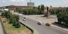 Webcam Volzhsky - The square named after V. I. Lenin