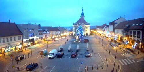 Webcam Ugerski-Brod - central square