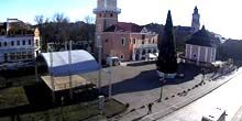 Webcam Kamianets-Podilskyi - Central Square, Town Hall, Armenian Well