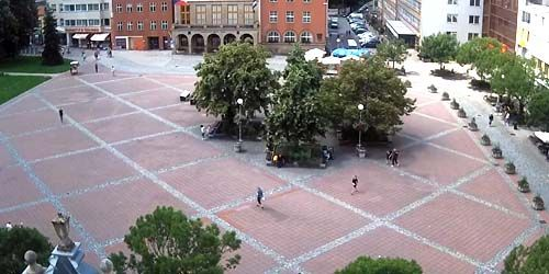 Webcam Zlin - Peace Square