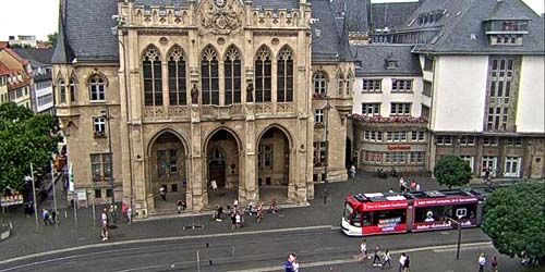 Webcam Erfurt - City Hall on Fish Square