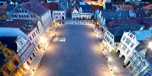 Webcam Liberec - Square in the town of Frýdlant