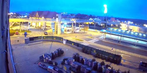 Webcam Ugerski-Brod - Train Station