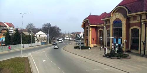 Webcam Uzhgorod - Railway station, Georgy Kirpa Square