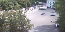 Webcam Pskov - station Square