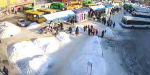 Webcam Chuguev - Bus station