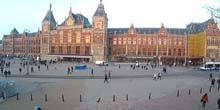 Webcam Amsterdam - Central station