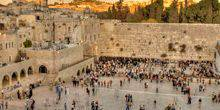 Webcam Jerusalem - Panorama of the Wailing wall