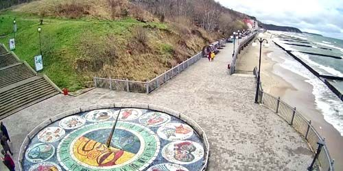 Webcam Svetlogorsk - Sundial, beaches on the coast
