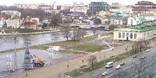 Webcam Minsk - Square on March 8, Svisloch Embankment
