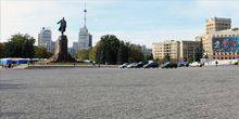 The Central Freedom square Kharkov
