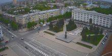 Webcam Lugansk - The bridge in the village of Lugansk