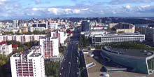 Webcam Ufa - Panorama from the Telecentre